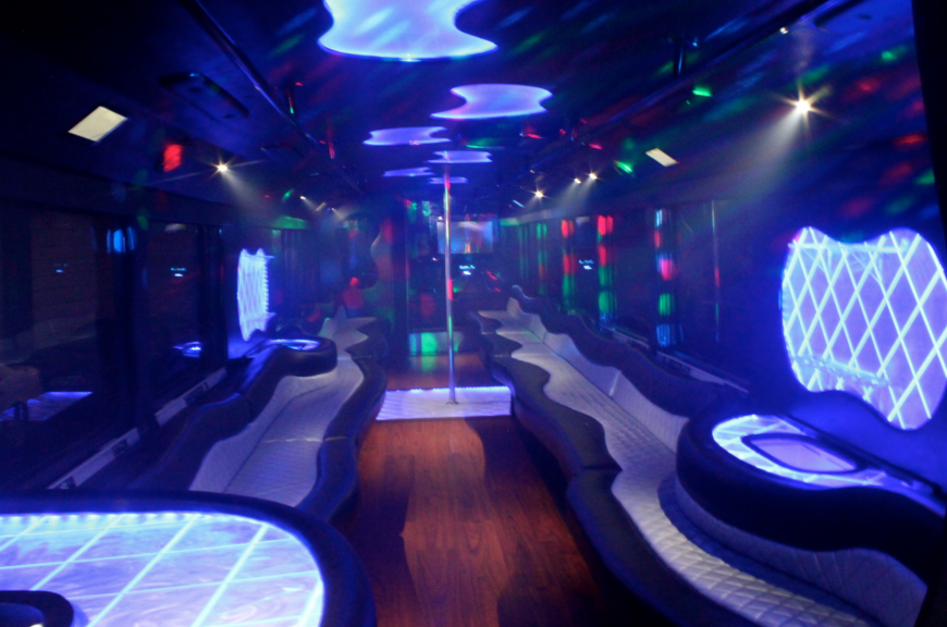 Tampa Bay's Ultimate Party Bus